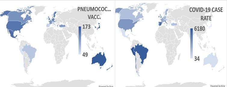 التطعيم, كورونا, انتشار كورونا في العالم