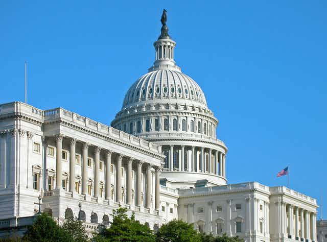 The Senate wing of the U.S. Capitol
