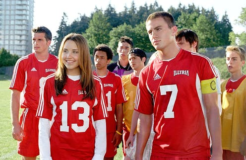 Amanda Bynes and Channing Tatum in She's The Man