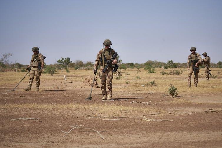 Des soldats de l'armée française
