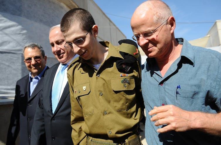 Le soldat israélien Gilad Shalit