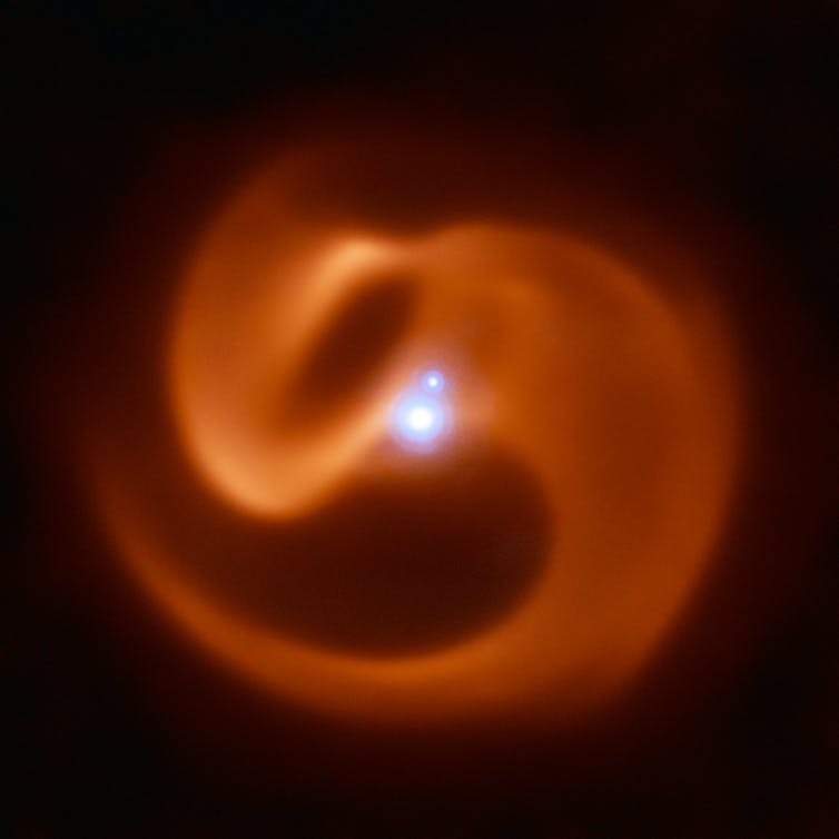 A mysterious 'exotic stellar peacock' in a new realm of physics-2