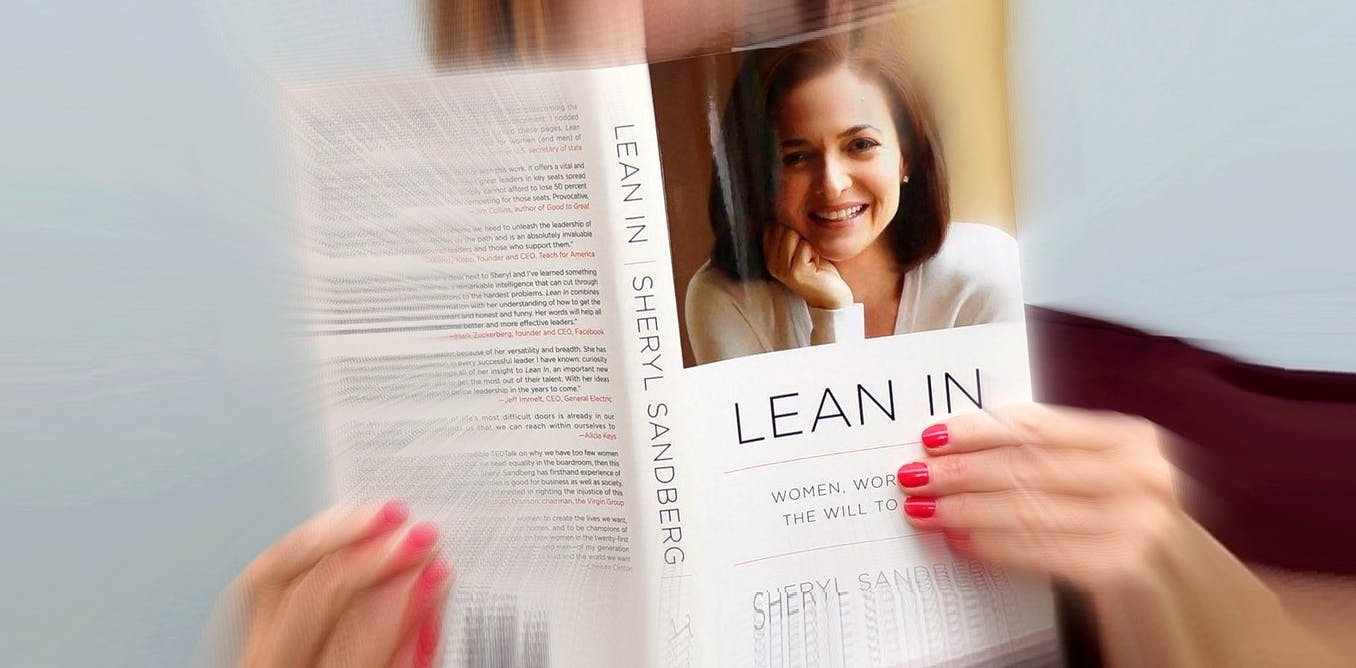 That advice to women to lean in, be more confident... it doesnt help, and data show it