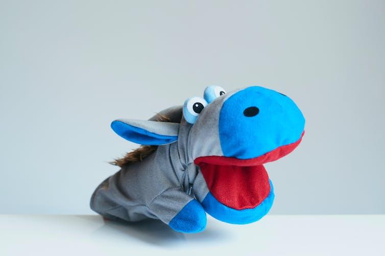 A puppet.