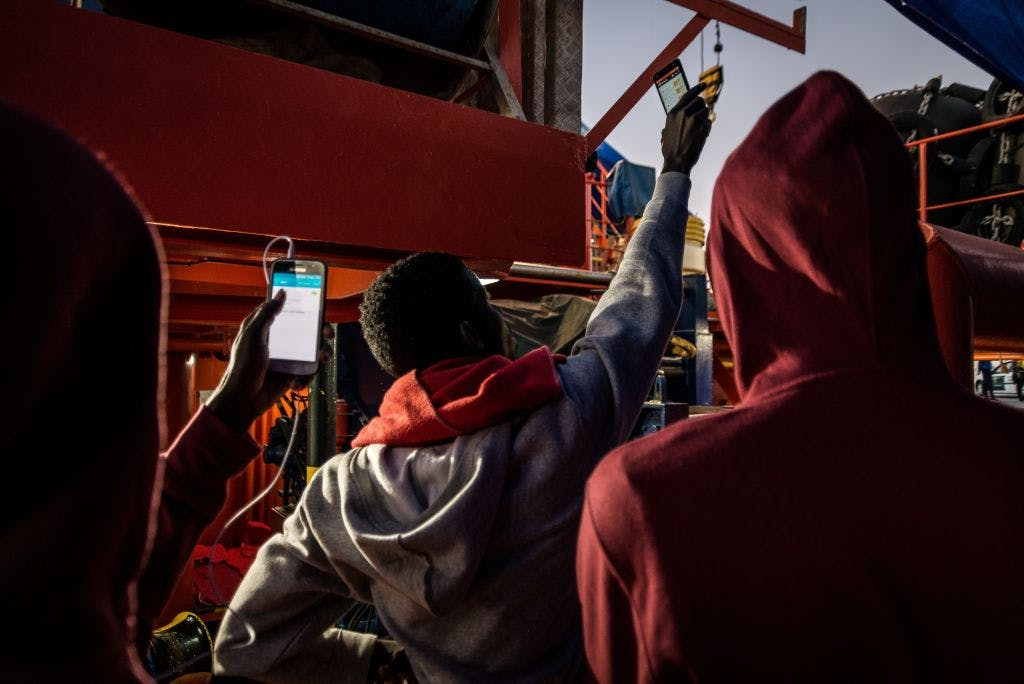 Insights from Morocco into how smartphones support migration