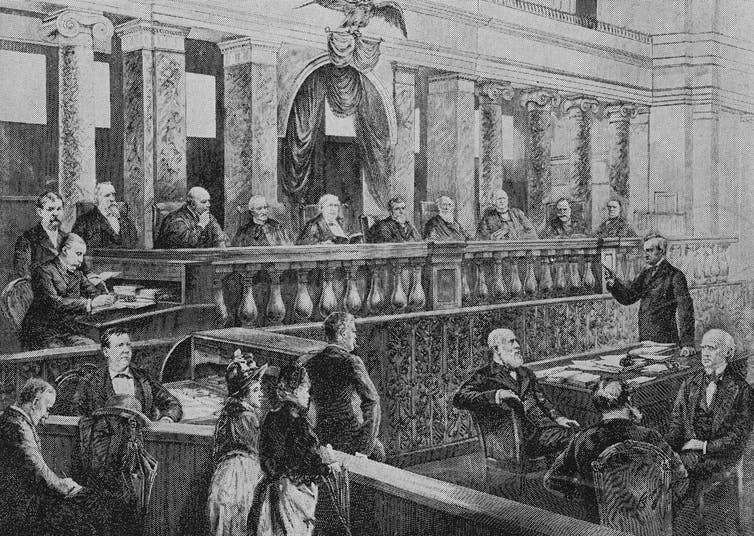 For the first 110 years of its existence, the Supreme Court was white, male and predominantly Protestant