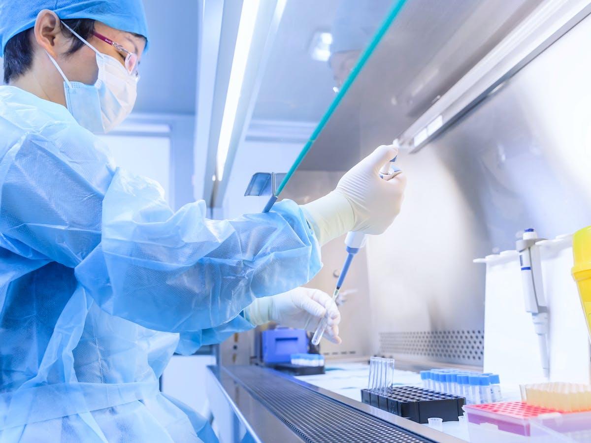 How do coronavirus researchers avoid catching COVID-19?