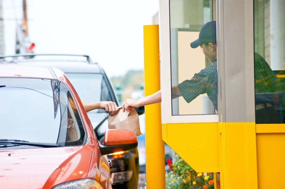 Drive-throughs are busier than ever during the pandemic – but they're hotspots for air pollution