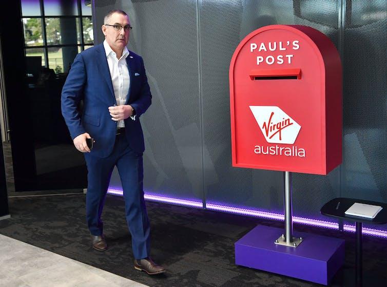 Virgin Australia chief executive Paul Scurrah