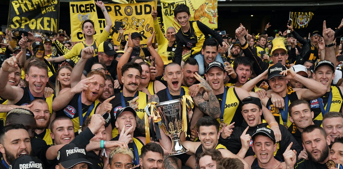 The power of the grand final crowd recalls ancient times