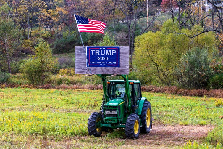 Most U.S. farmers remain loyal to Trump despite pain from trade wars and Covid-19