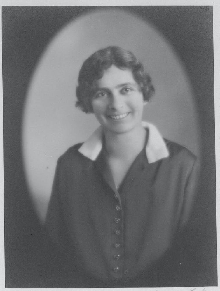 Millicent Bryant c.1919. Portrait by Monte Luke.