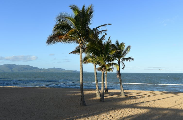 Beach in Townsville.