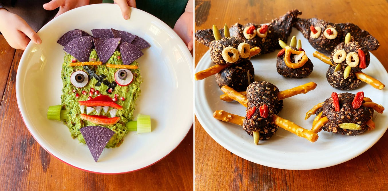 Feeling scared about how your kids can enjoy Halloween this year? Have no fear – healthy snacks are here