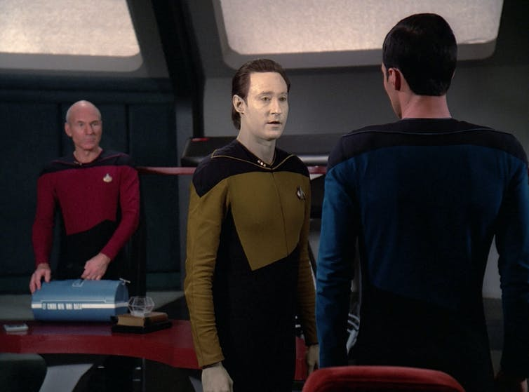 Still from Star Trek: The Next Generation