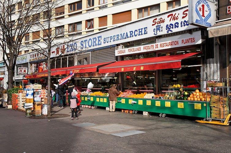 Commerces dans le 13e arrondissement à Paris