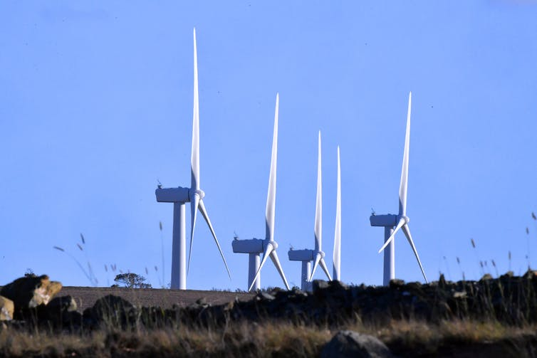 Wind farm near the ACT