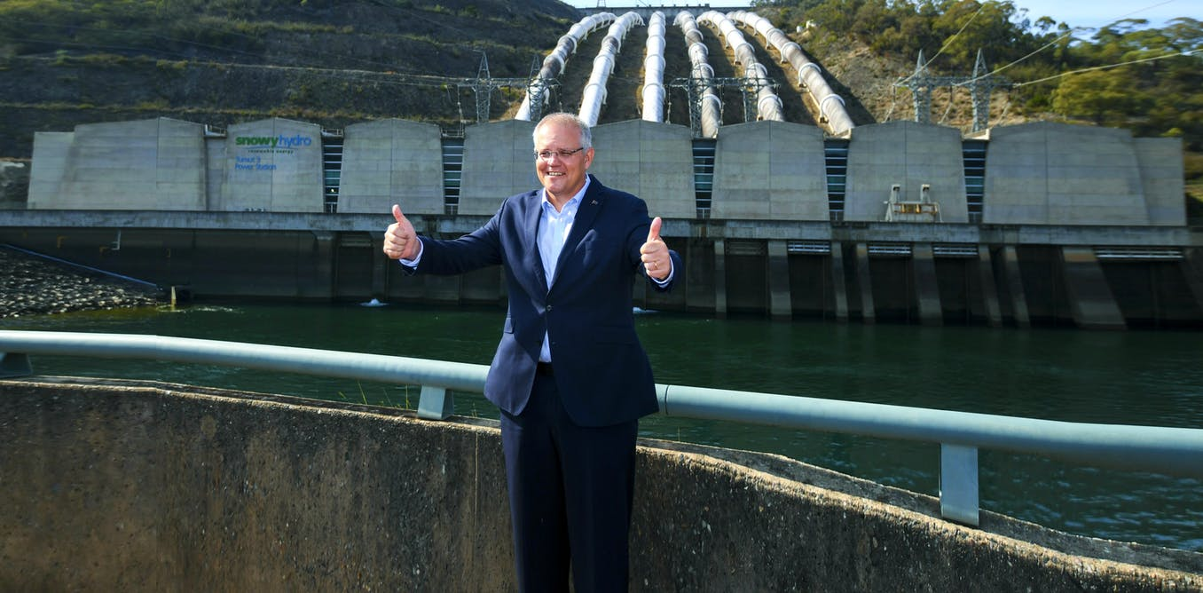Pumped hydro isnt our energy future, its our past
