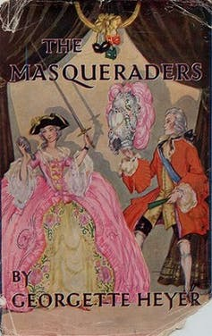 The Masqueraders book jacket.