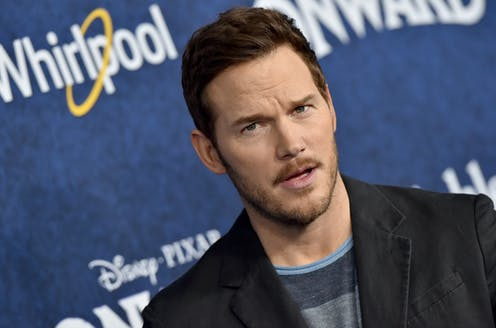 Actor Chris Pratt poses during the premiere of his recent film, 'Onward.'