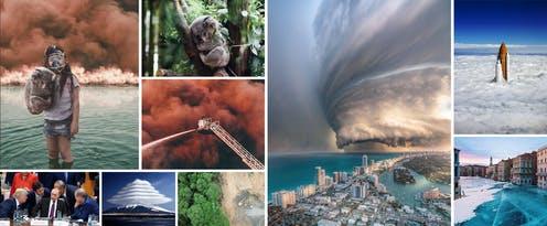 Various examples of real and manipulated photos.