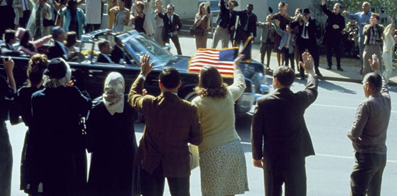 The great movies scenes: in JFKs opening montage Oliver Stone gets creative with history