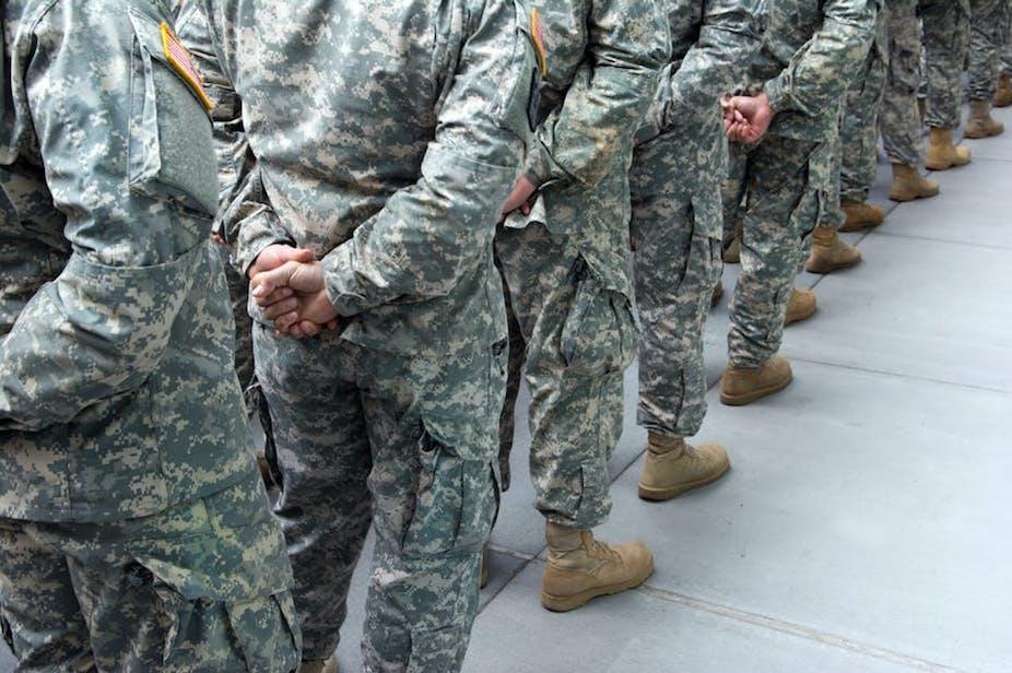L'armée américaine.