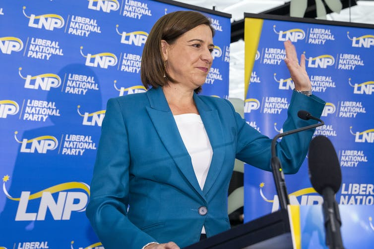 Queensland LNP leader Deb Frecklington.