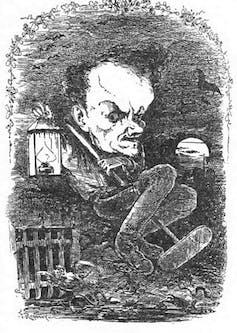Caricature du polémiste et essayiste Henri Rochefort