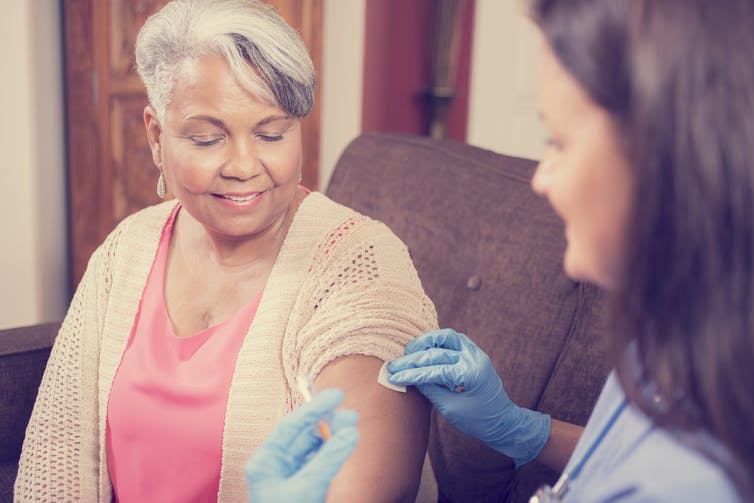 Adjuvants are often added to flu vaccines to boost immune response.