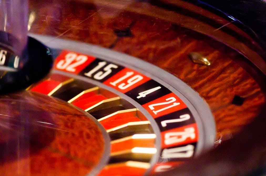 фото В азартное казино колесо