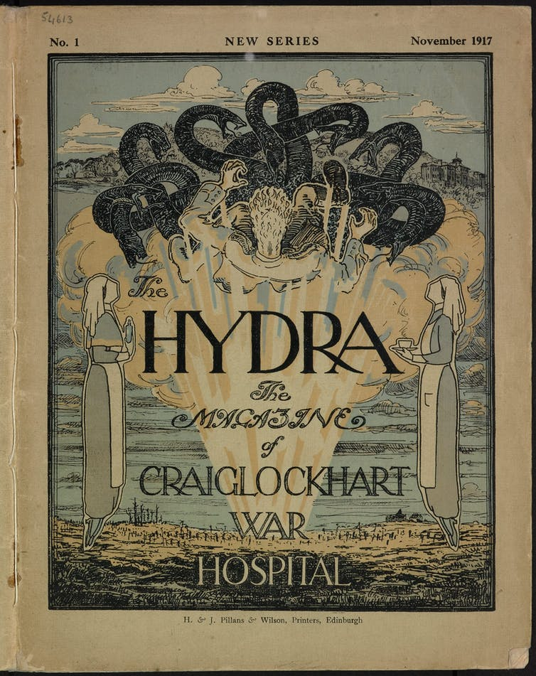 Cover of 'The Hydra' magazine.
