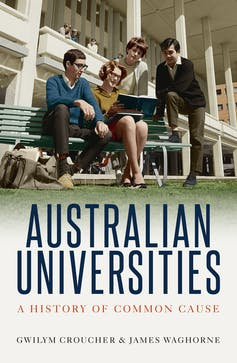 Cover of Australian Universities book