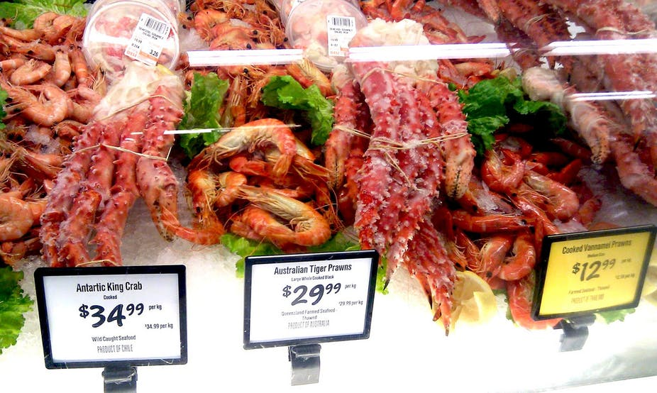 Slip a more sustainable prawn on your barbie this Christmas