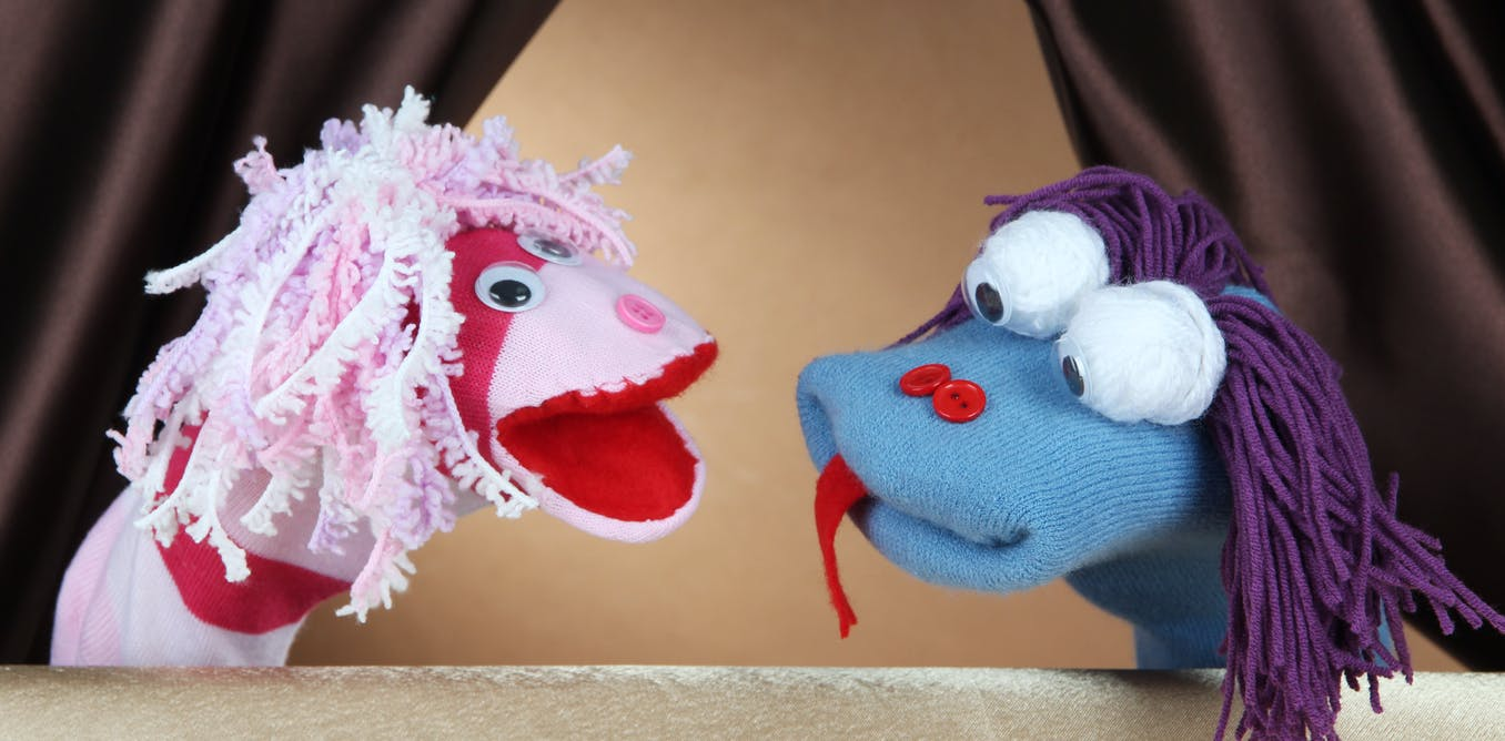 Talking through play: 3 ways puppets can help your child open up