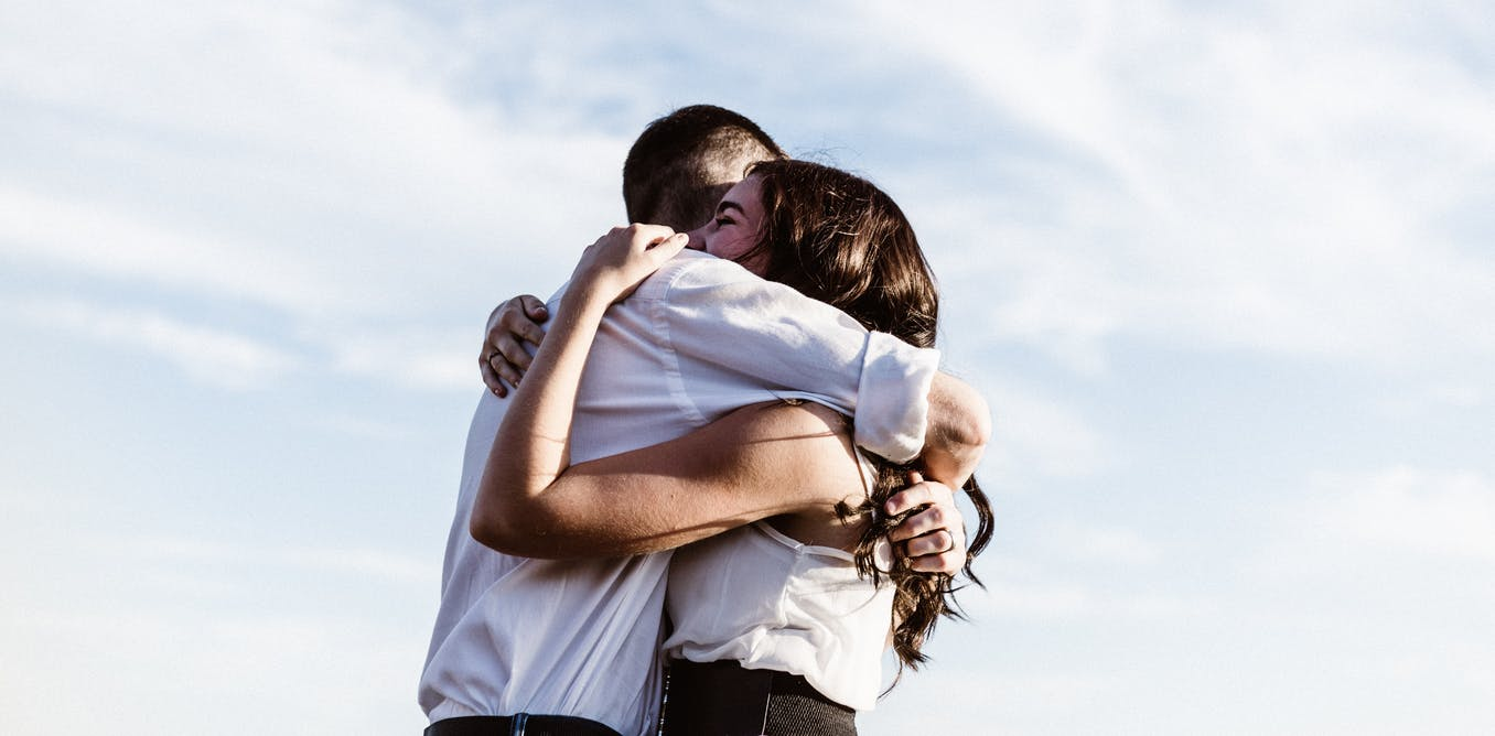 No, a hug isnt COVID-safe. But if you have to do it, heres what to keep in mind