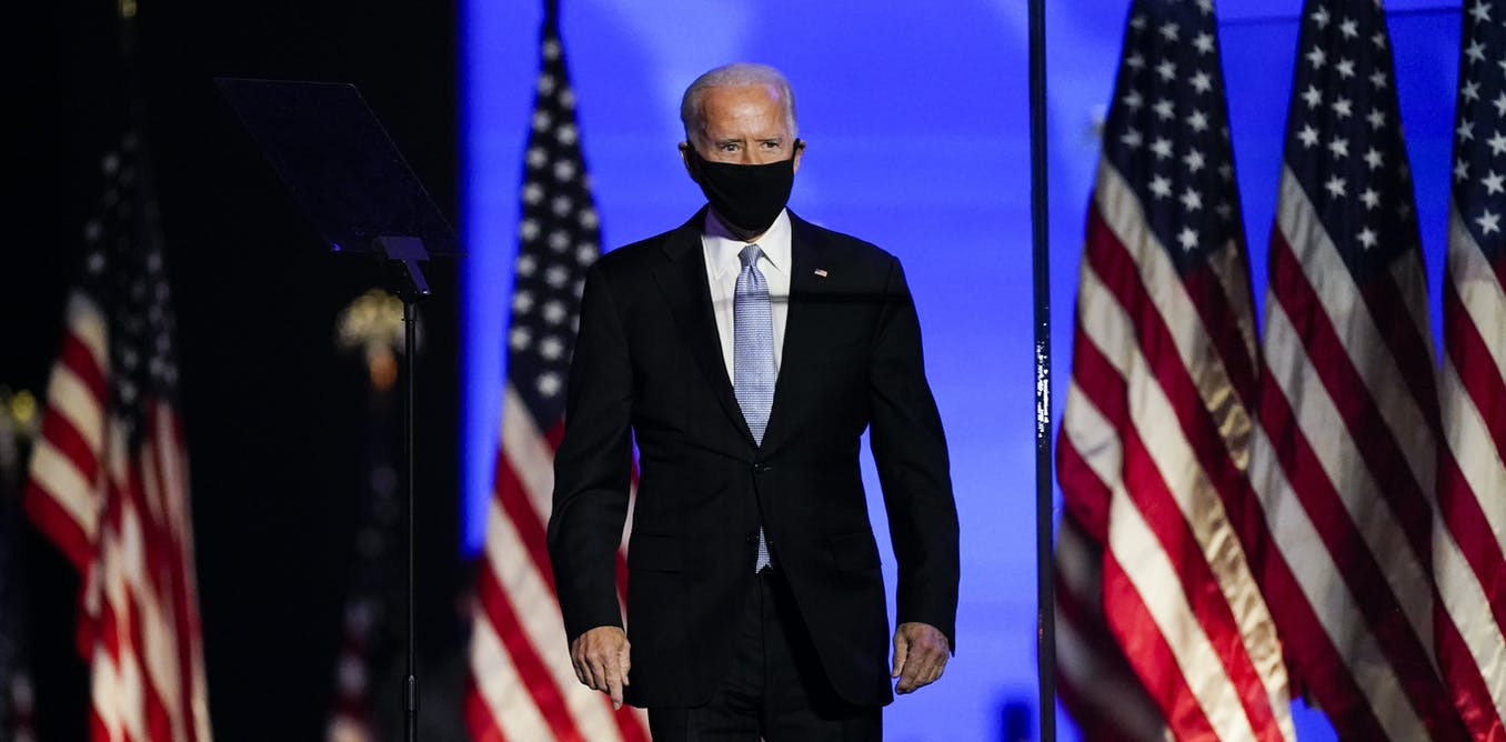 Joe Biden wins US presidential election as mail-in votes turn key states around