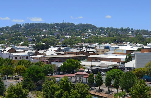 view over Toowoomba