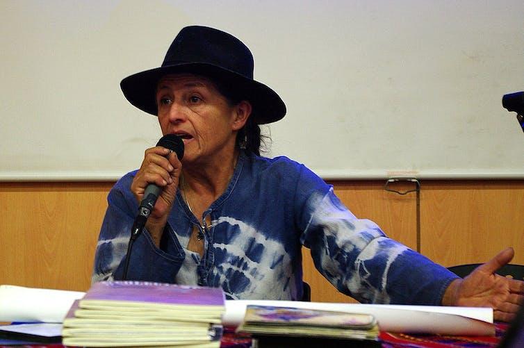 Silvia Rivera Cusicanqui, chercheuse bolivienne