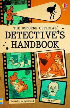 Children's book about detective work