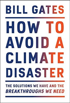 Book cover: Bill Gates How to Avoid a Climate Disaster