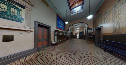 Screenshot of Trades Hall VR