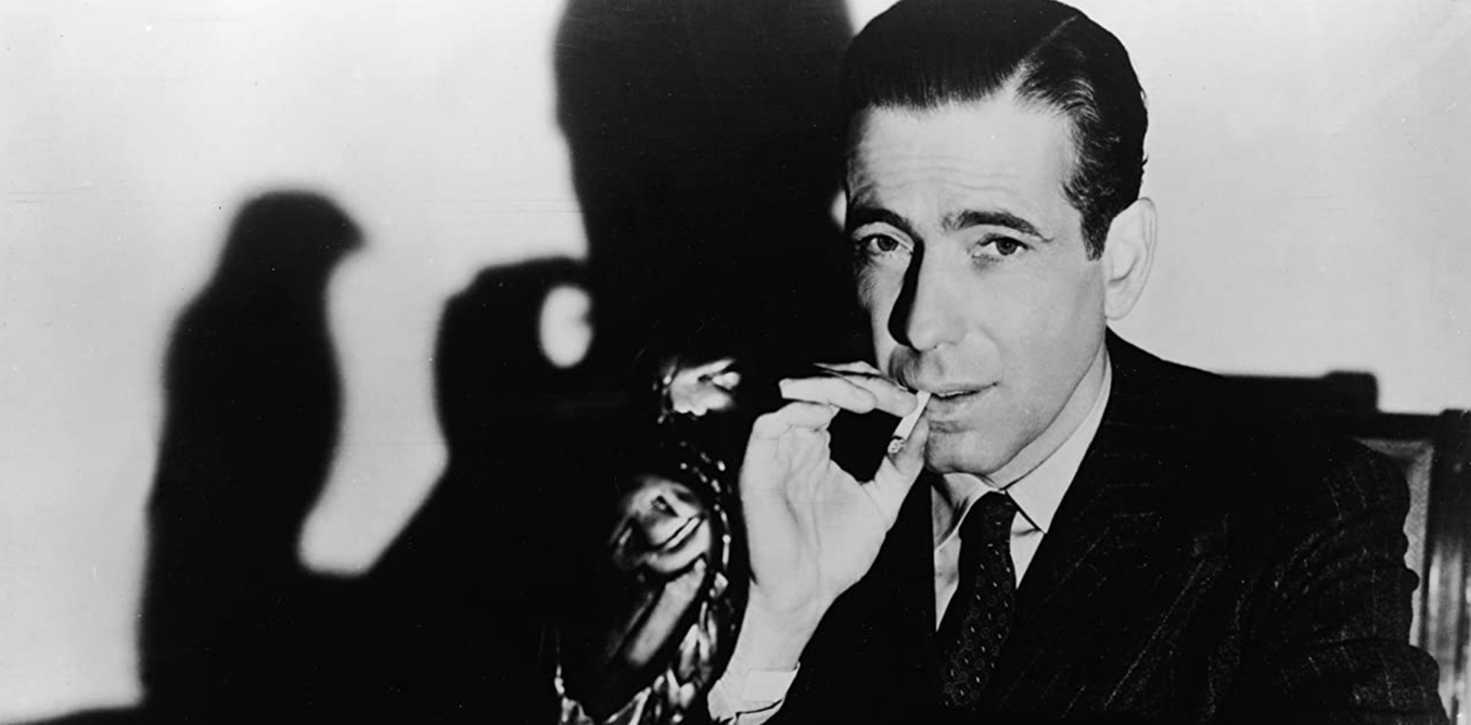 My favourite detective: Sam Spade, as hard as nails and the smartest guy in the room