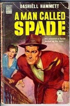 Detective book: A Man Called Spade