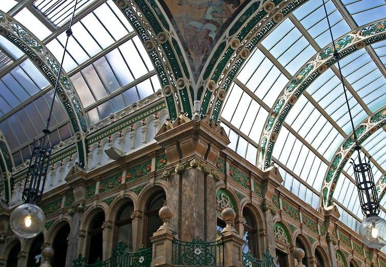 The arcades in Leeds