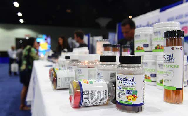 Hundreds of CBD products are now on the market.