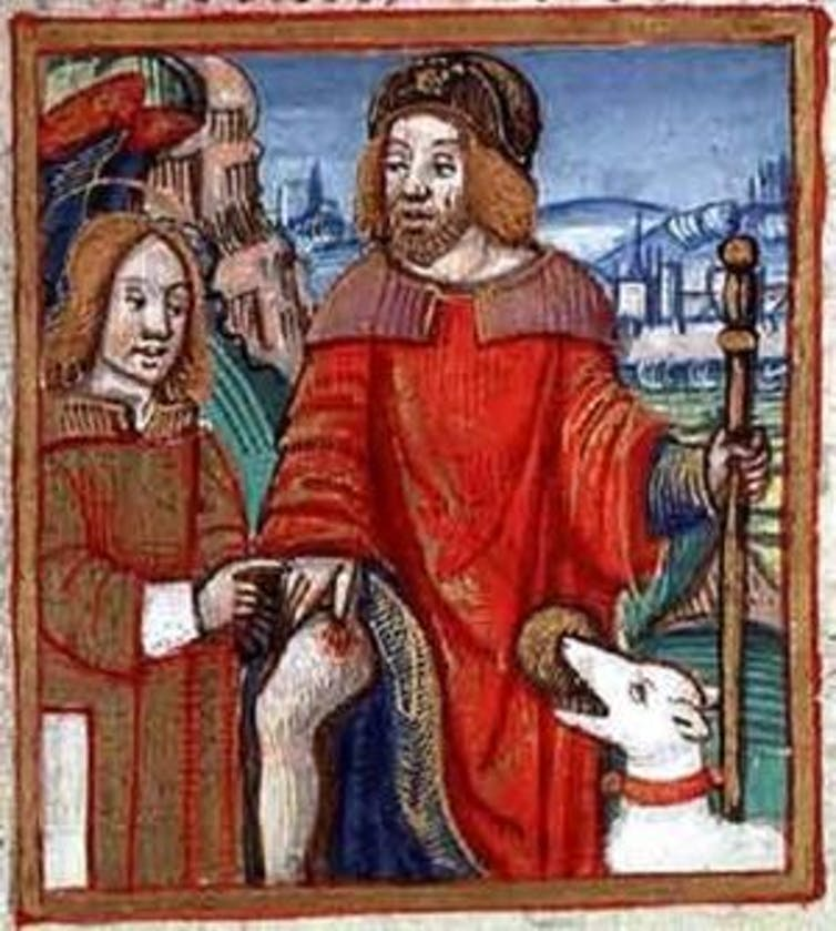Saint Roch, patron des pèlerins