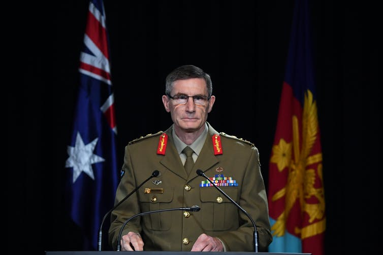 ADF chief Angus Campbell
