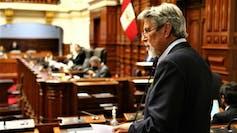 El parlamentario del Partido Morado, Francisco Sagasti, se convirtió en el nuevo titular del Congreso y asumirá la Presidencia de la República.Presidencia de Perú