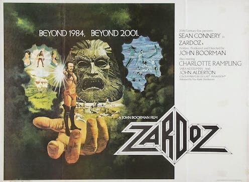 Film poster for Zardoz